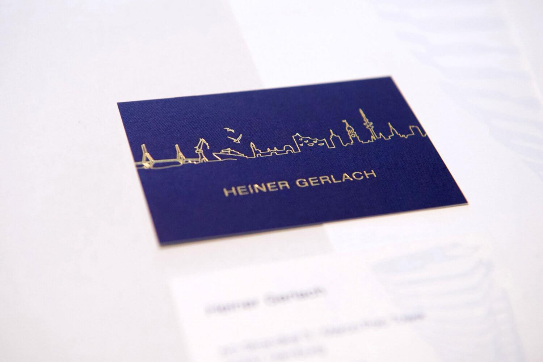 Corporate Design Visitenkarten und Briefpapier