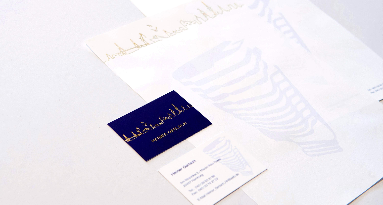 Geschäftsaustattung Visitenkarten und Briefpapier