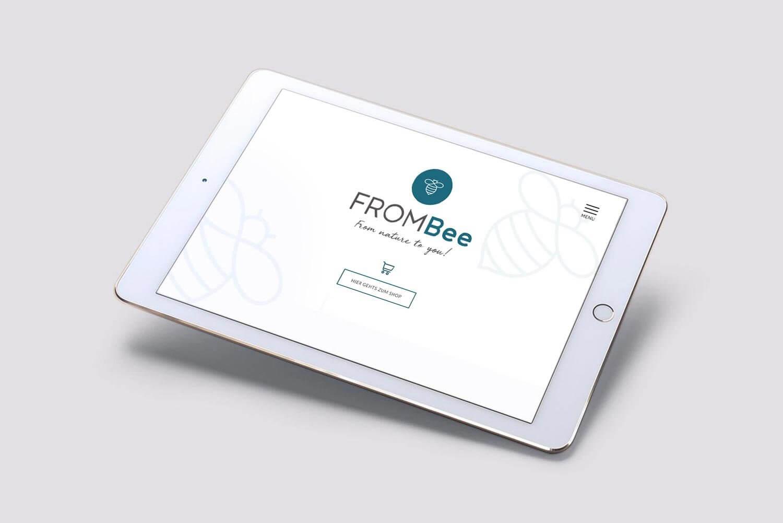 Logo-Entwicklung für Frombee.de