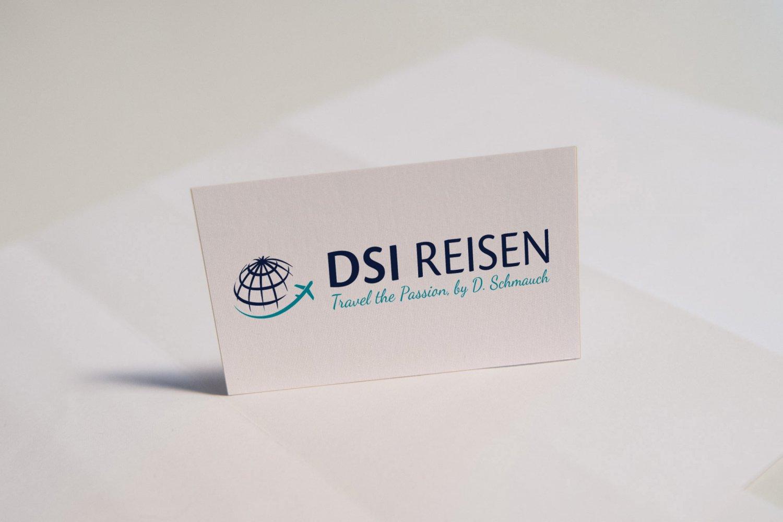 Logo-Entwicklung für DSI Reisen