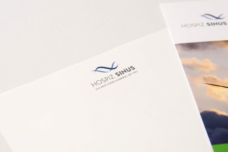 Logo-Entwicklung für Hospiz Sinus
