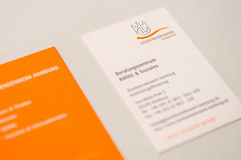 Logo-Entwicklung für das Studierendenwerk Hamburg