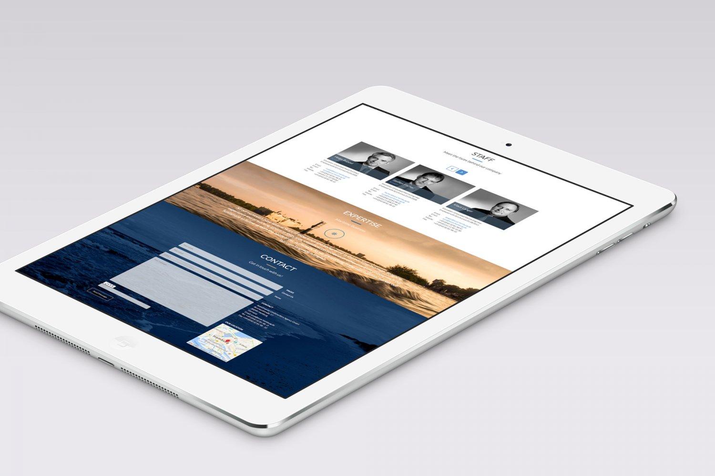 Responsive Web Design OnePager