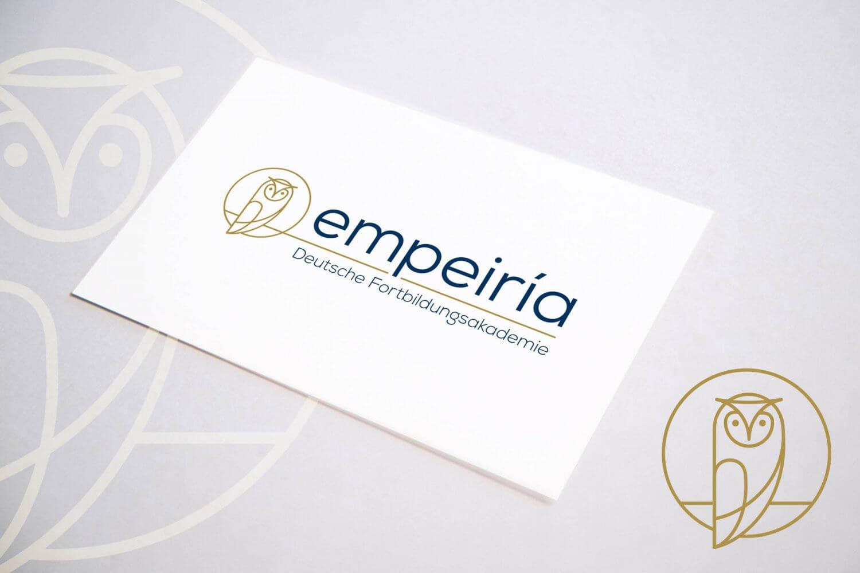 Logo-Entwicklung für Empeiria – Deutsche Fortbildungsakademie
