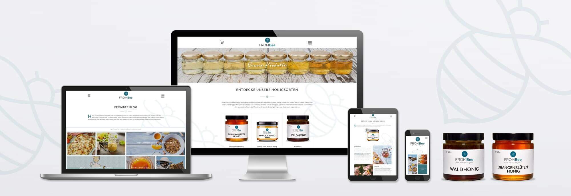 Responsive Webdesign, Logo-Design, Packaging-Design