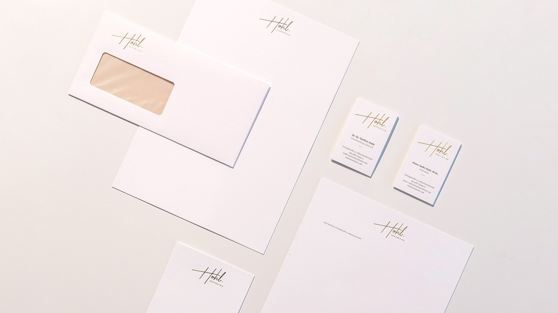 Freiraum Grafik Design Geschäftsausstattung – Briefpapier, Visitenkarten, Briefumschlag