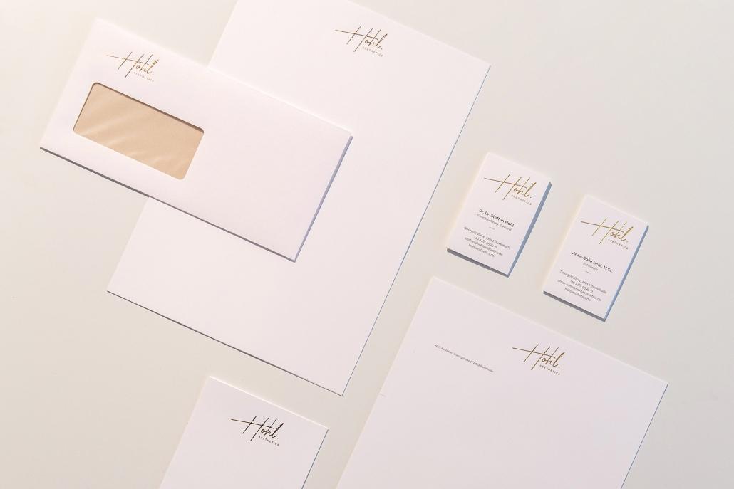 Freiraum Grafikdesign Geschäftsausstattung Briefpapier Visitenkarte