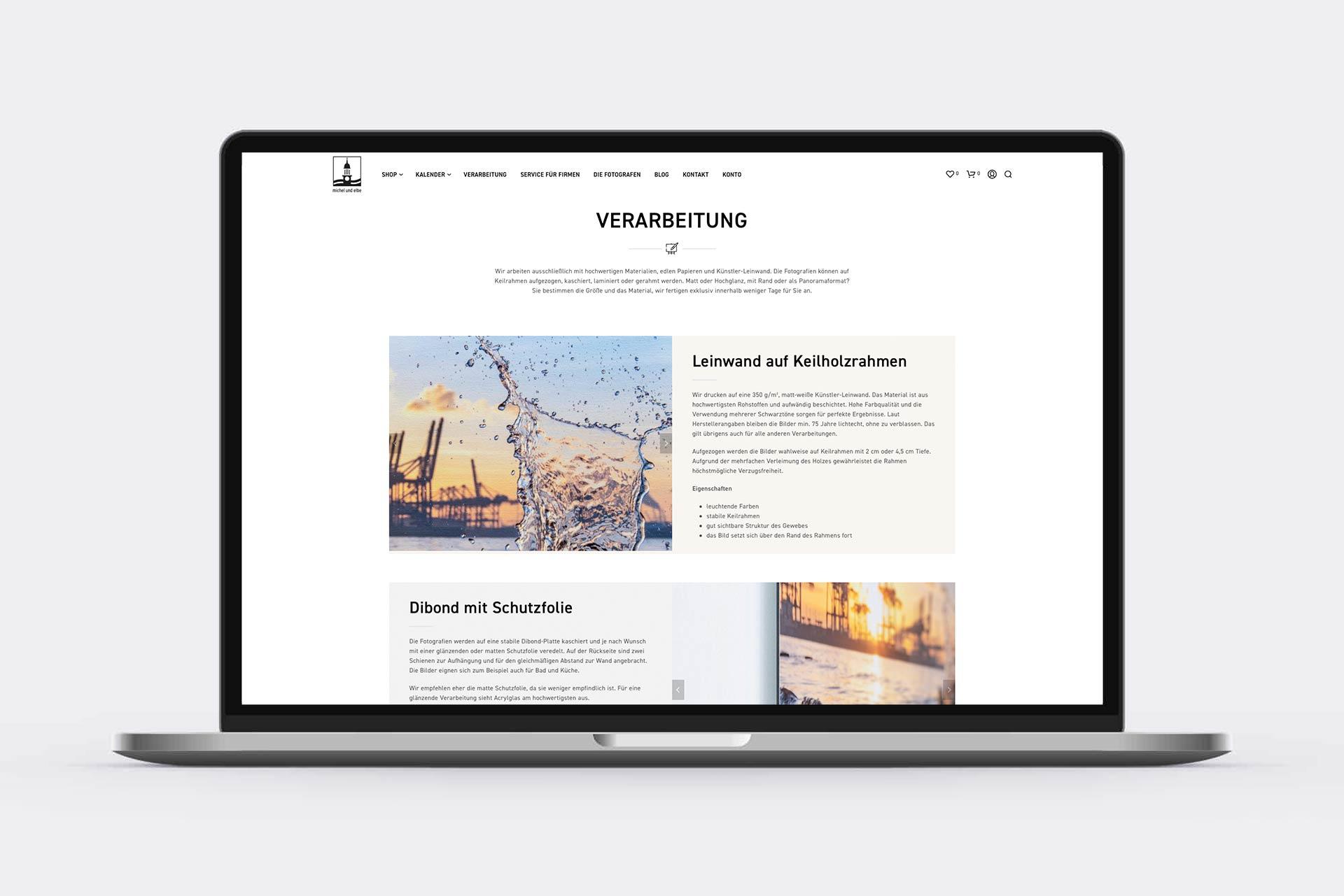 Internetseite Webdesign Hamburg