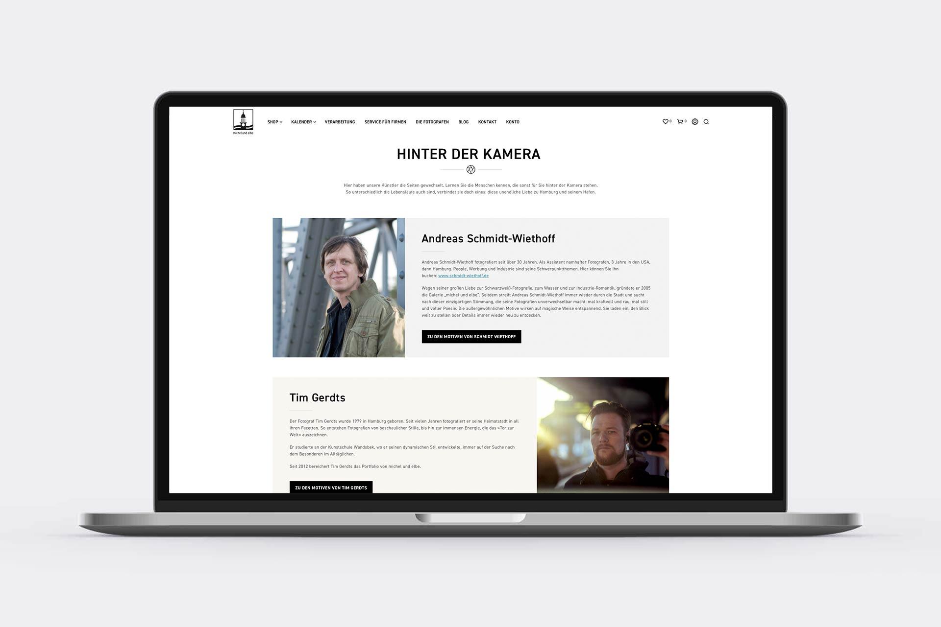 Webdesigner Hamburg Internetseite erstellen